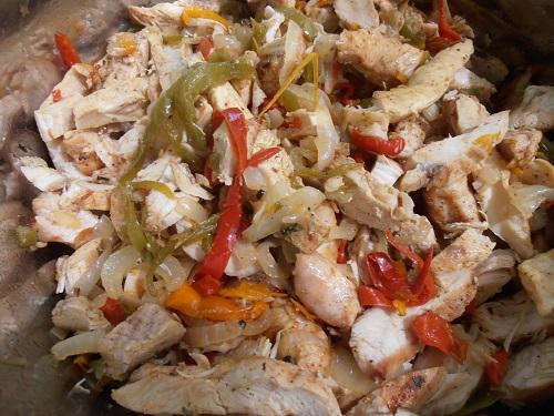 Algarve Mexican Food Catering: Chicken Fajitas