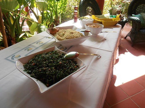 Algarve Villa Catering: Mediterranean Buffet
