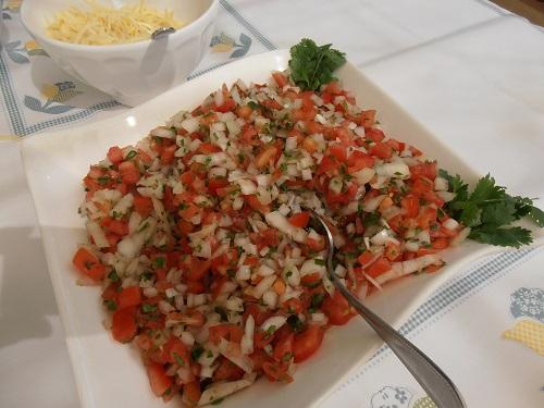 Algarve Mexican Food Catering: Pico de Gallo
