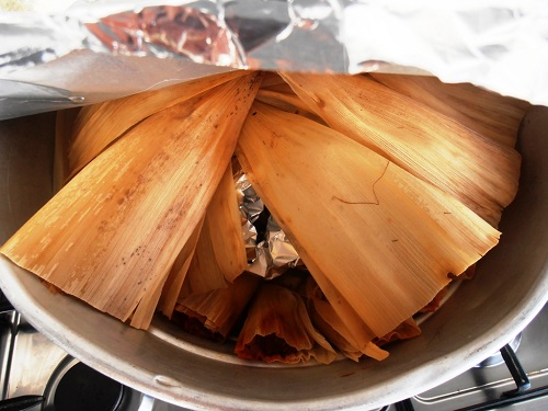 Algarve Mexican Food Catering: Pork Tamales